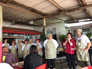 Formandos do curso de Turismo Rural do SENAR 2018 promoveram o 1° Festival da Tainha espalmada