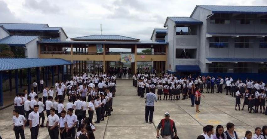 Escolares de Loreto respondieron favorablemente a simulacro nacional de sismo