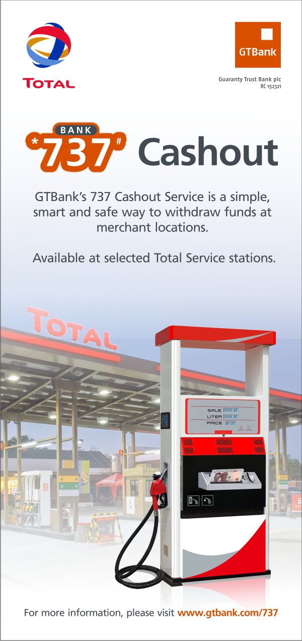 BOKISSONTHRONE NEWS: Introducing the GTBank 737 Cashout Service