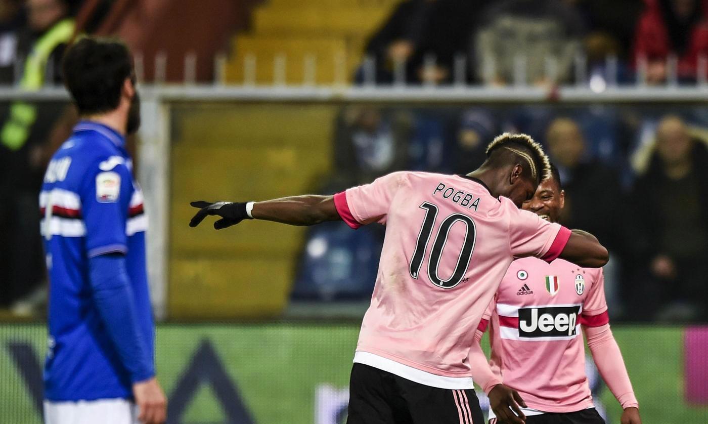 Serie A: Juve batte Samp 1-0 a Marassi