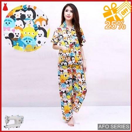 AFO610 Model Fashion Pajamas Tsum Friend CP Modis Murah BMGShop