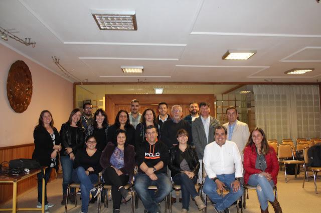 Exitoso taller de buenas prácticas en Redes Sociales realizan los periodistas de Aconcagua