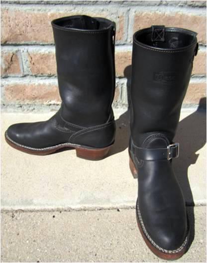Vintage Engineer Boots Custom Wesco Boss Engineer Boots