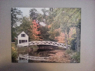 Photo of Bridge on Canvas