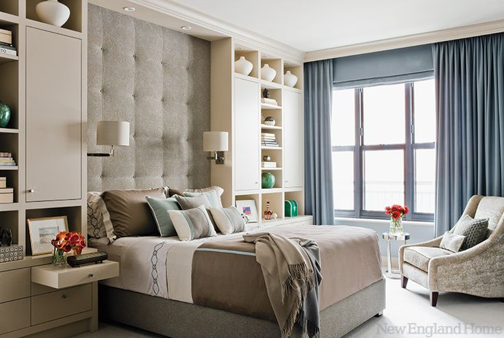 built ins around bed inspiration remodelando la casa - Bookshelves Around Bed