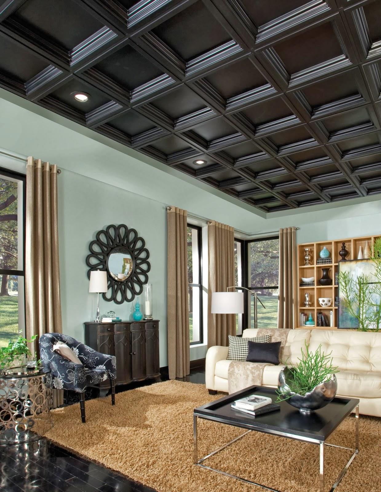 Kitchen Coffered Ceiling Ideas