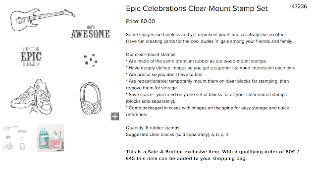 Epic Celebrations from Stampin