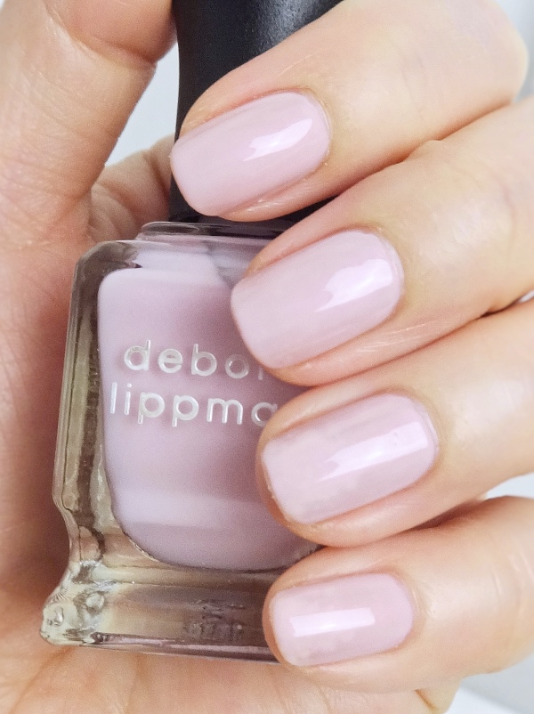Deborah Lippmann Chantilly Lace swatch