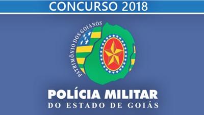 Concurso PM-GO 2018 - Policia Militar de Goias