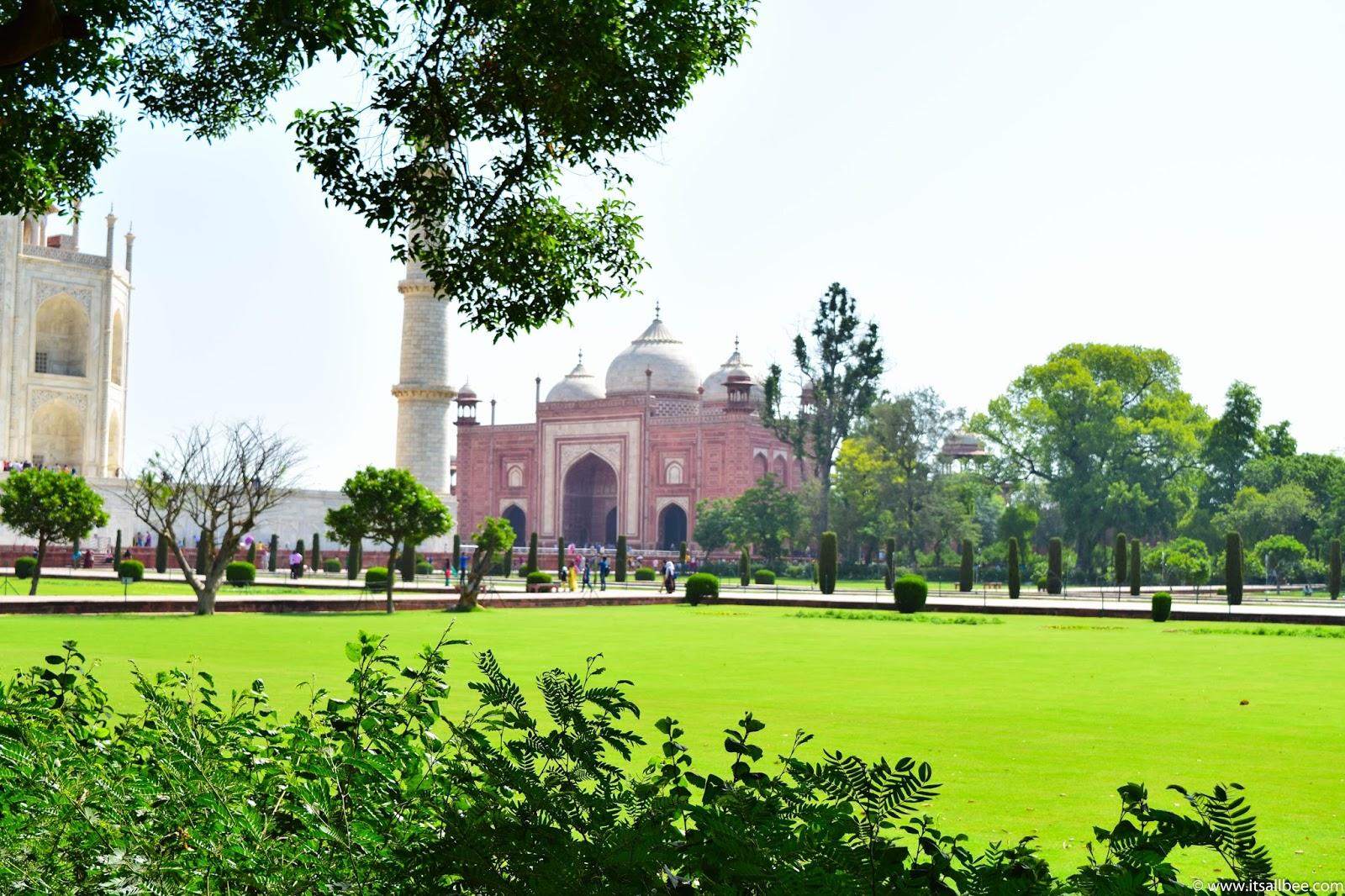 Taj Mahal In Photos