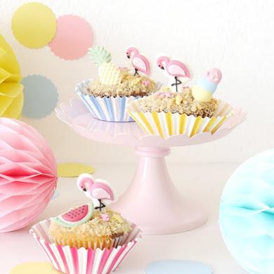 Recette de Cupcakes d'Été Faciles