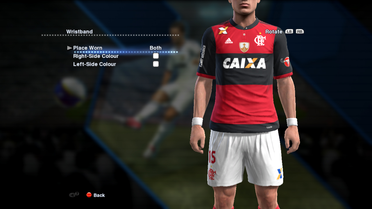 9f04f07eac0b7 Uniformes Flamengo 2017-2018  PES 2013  - RE-PA Kits