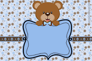 Pretty Little Bear Free Printable Mini Kit.