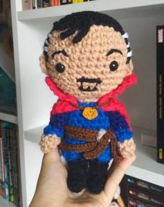 free doctor strange crochet pattern