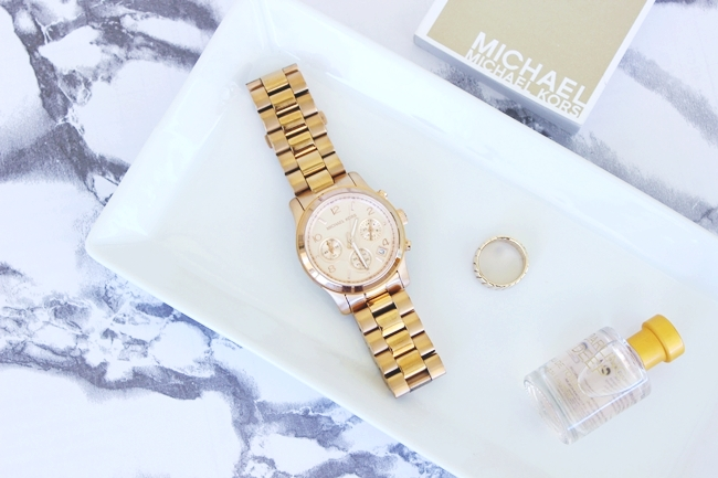 Michael Kors rucni sat rose gold