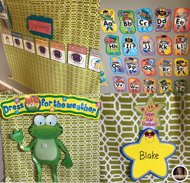 Preschool classroom set-up ideas and classroom management tools.