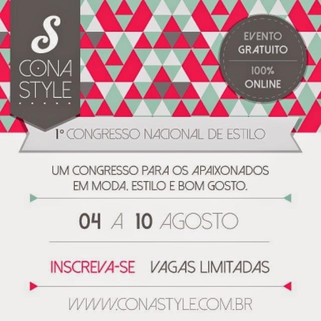 Conastyle - 1º Congresso Nacional de Estilo - online e gratuito!