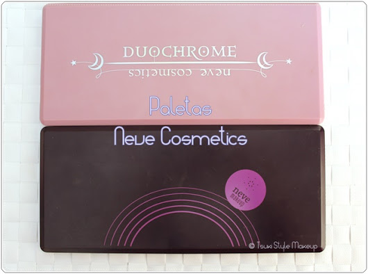 #Review# ~Paletas Neve Cosmetics~