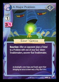 My Little Pony A Major Problem Canterlot Nights CCG Card