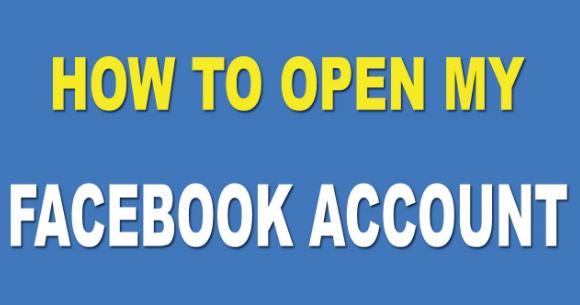 Facebook Com Open New Account