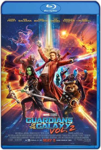 Guardianes de la Galaxia Vol. 2 (2017) HD 1080p y 720p Latino