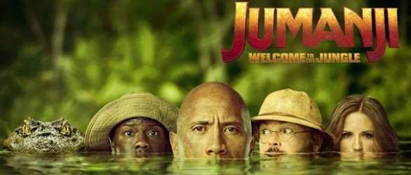 JUMANJI: WELCOME TO THE JUNGLE MOVIES 2017