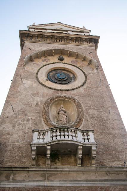 Torre dell'orologio-Mantova