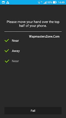 Asus Zenfone 2 Laser Proximity Sensor testing