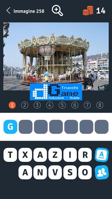 Soluzioni 1 Immagine 8 Parole soluzione livello 251-260