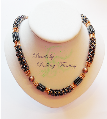 Earthen Treasure Necklace - lange Version