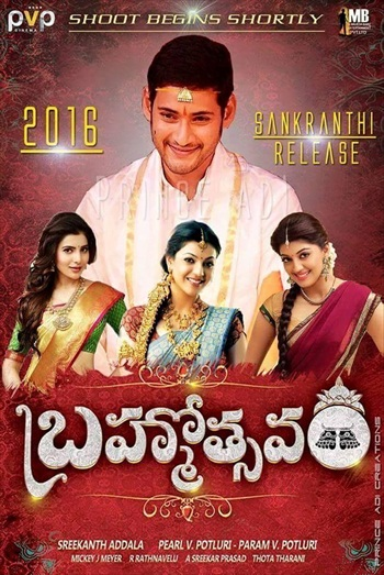 Brahmotsavam 2016 Hindi Dubbed HDRip x264 800MB