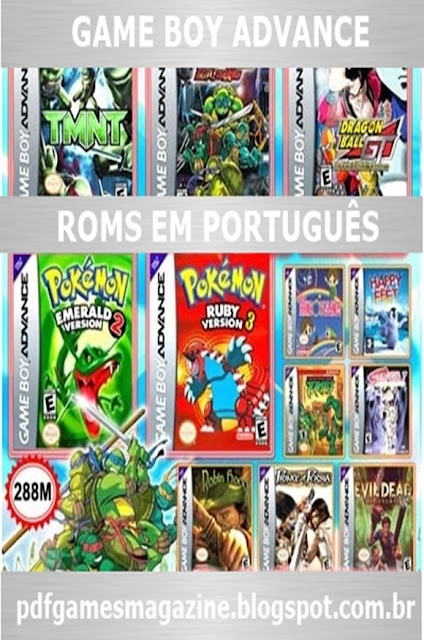 Try These Roms Gameboy Advance Pokemon Fire Red Portugues