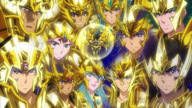 Soul of Gold aniversário de Lançamento Dourados
