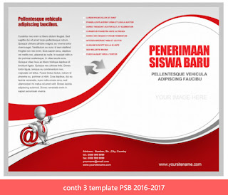 contoh 3 template PSB 2016-2017