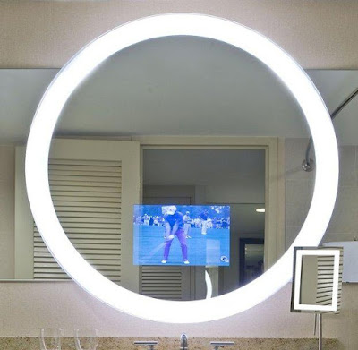 Lighted Mirror TV