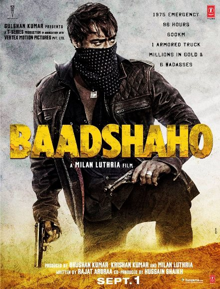 Baadshaho 2017 Hindi Movie