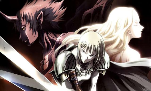 Claymore - Daftar Anime Gore Terbaik