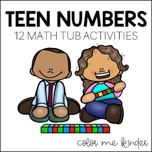 Teen Number Center Game