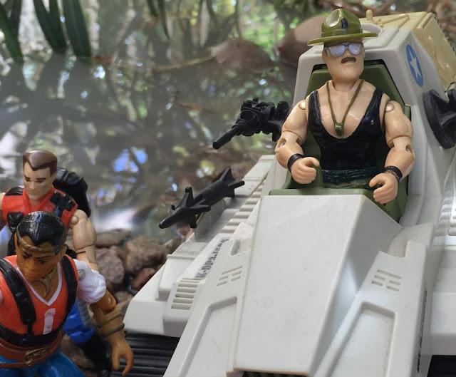 1986 Sgt. Slaughter, TTT, Overlord, 1990, Monster Blaster APC, Mega Marines, Renegades, Red Dog, Mercer