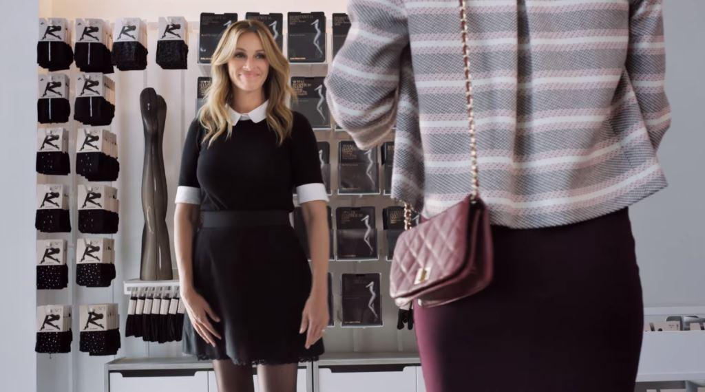 Julia Roberts nella pubblicità Calzedonia come testimonial - Spot ottobre 2016
