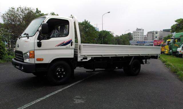 Thùng lửng HD120s Đô Thành