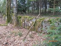Anciens alignements de pierres dans les Vosges