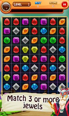 Magic Jewels Legend Puzzle