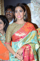 Shriya Saran Looks Stunning in Silk Saree at VRK Silk Showroom Launch Secundrabad ~  Exclusive 049.JPG