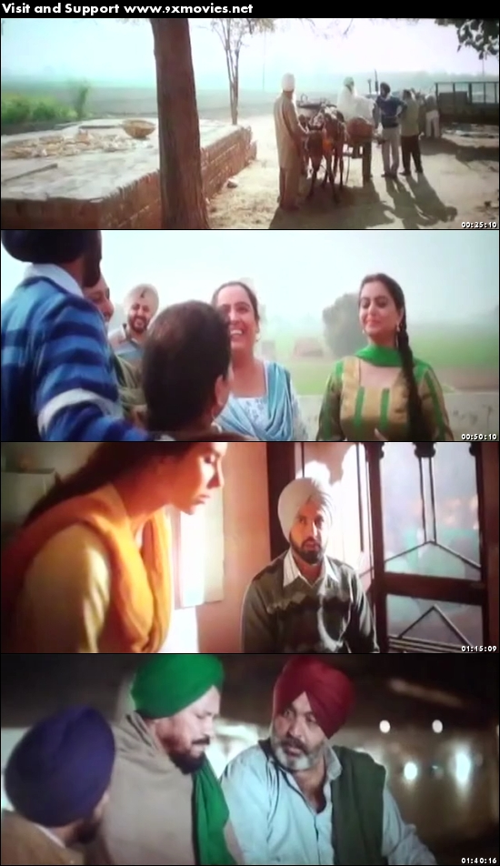 Manje Bistre 2017 Punjabi pDVDRip x264 700MB