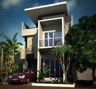 Aneka Desain Rumah Minimalis 2 Lantai Terbaru