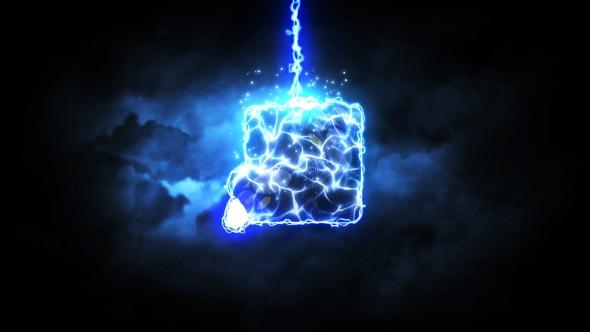 قالب لوجو افتر افكت اضواء الرعد مع الصوت