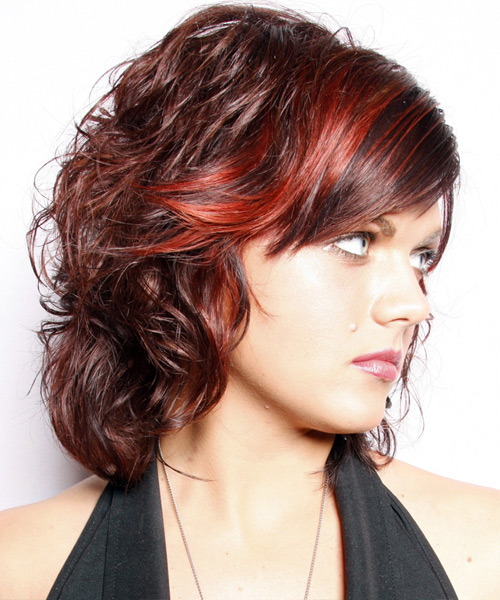 Crinkly Hair Styles: CUTE SHORT HAIRSTYLES ARE CLASSIC: MEDIUM WAVY HAIRSTYLES