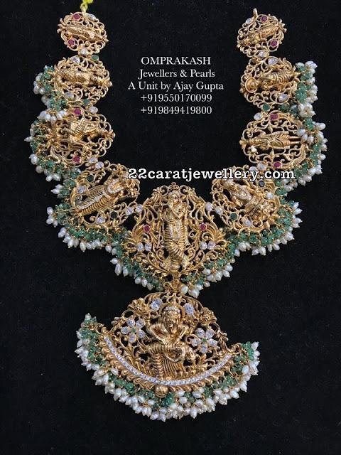 Krishna Hanuman Necklace