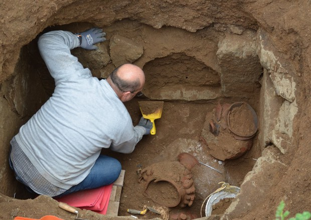 Tomb of Etruscan 'princess' unearthed in northern Lazio